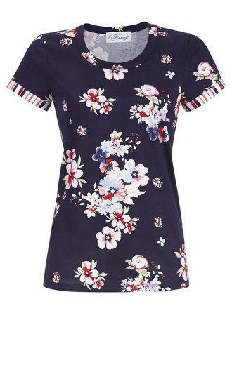 2fd7f940c8b Ringella Bloomy Shirt 255 Tinte 9251409 | 20456 - Ligtenberg Linnen ...