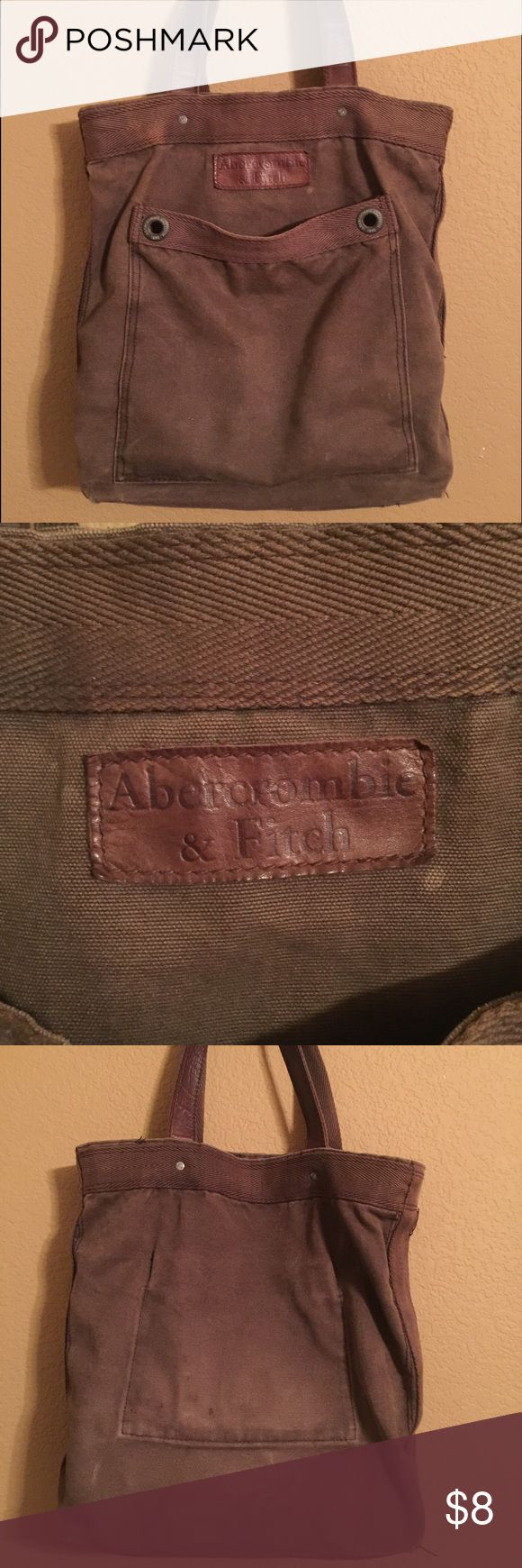 Abercrombie & Fitch Tote Abercrombie and Fitch Tote Brown Bag! Abercrombie & Fitch Bags Totes