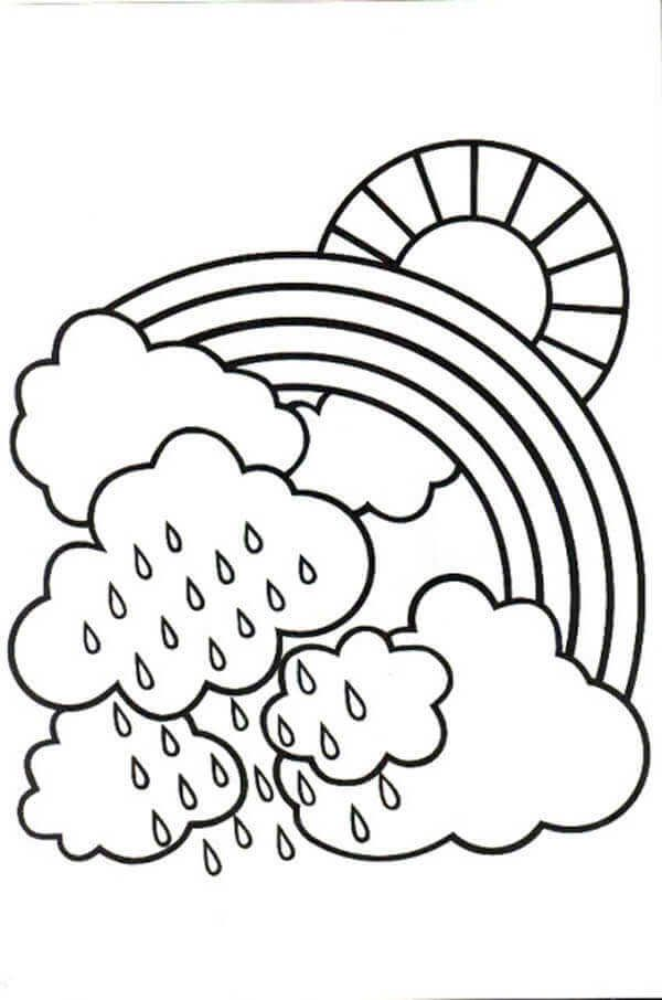 - Rainy Day Coloring Pages Collection For Kids In 2020 Witch Coloring Pages,  Coloring Pages, Preschool Coloring Pages