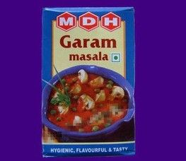Garam Masala - just spices no MSG. 13.5 rmb  印度咖喱粉 MDH 五香玛沙拉 gram masala-淘宝网