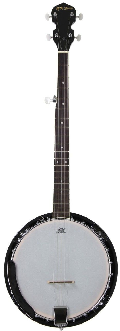 This full scale 5 string banjo from Jameson Guitars has all the features you'd expect on a much more expensive banjo. This beautiful instrument plays great and sounds even better. For anyone who has e