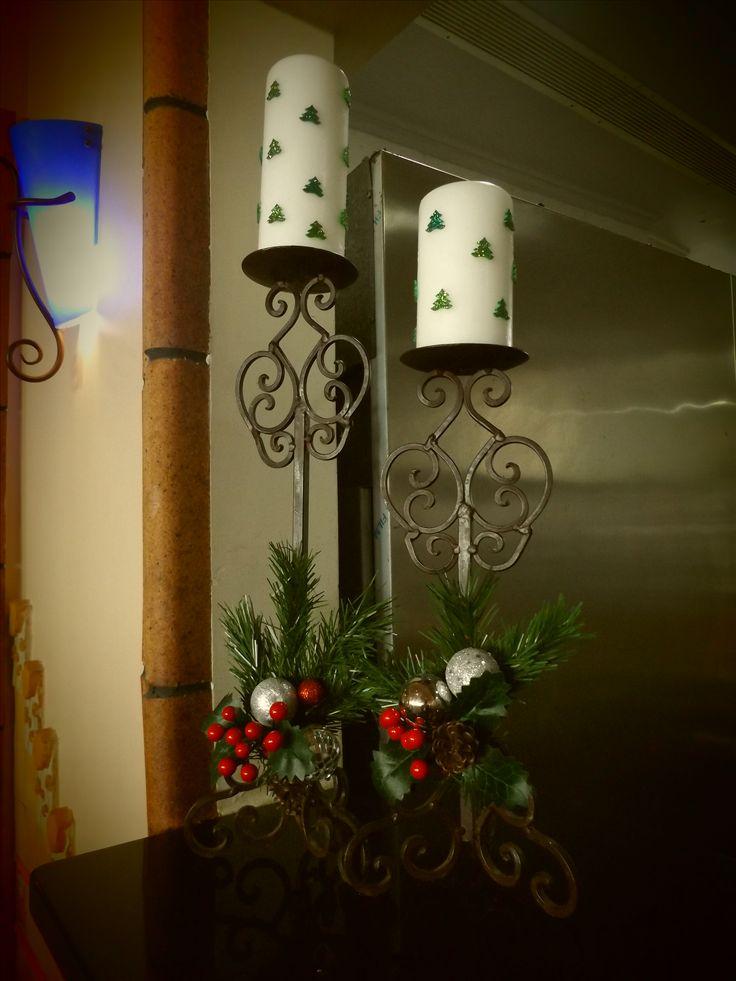 candelabros natal