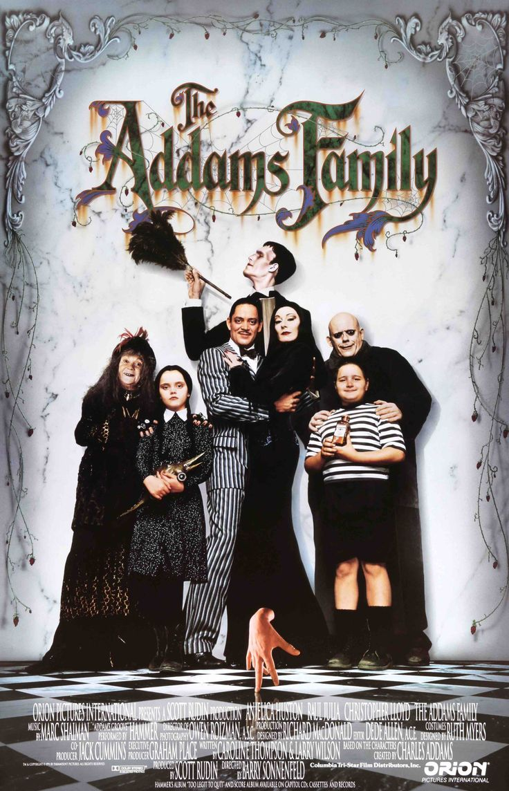 """Addams Family (1991) Vintage One-Sheet Movie Poster - 27""""x 40"""""""