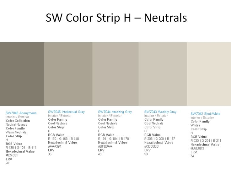 Neutrals Colors 2363 best paint colors images on pinterest | wall colors, colors