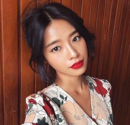 Makeup asian monolid red lips 30+ ideas #makeup