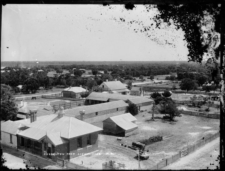 014016PD: Busselton from the lighthouse, 1899  http://encore.slwa.wa.gov.au/iii/encore/record/C__Rb1923364?lang=eng