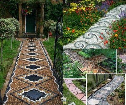 caminos en el jardn ideas para jardines y decoracin