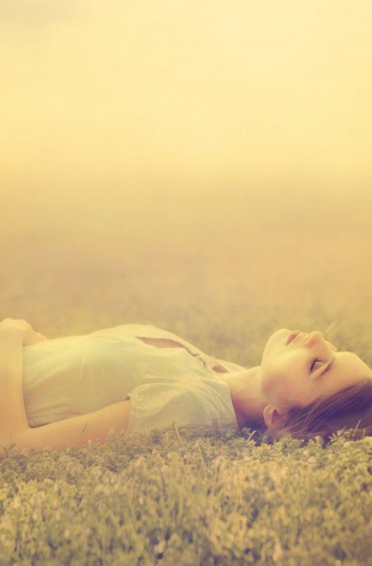 sleep over the grass... yeahhh