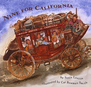 Nine For California: Sonia Levitin, Cat Bowman Smith: 9780531095270: Amazon.com…
