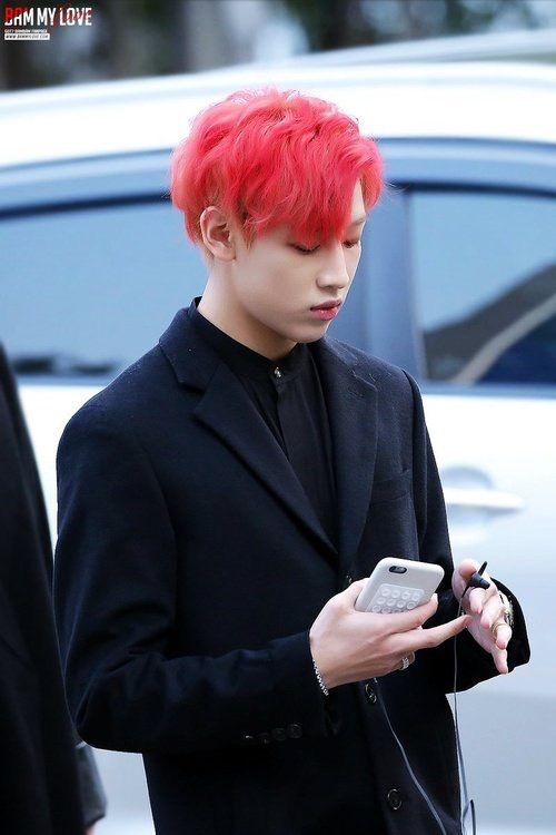 Uohhhh red hair // BamBam - Got7   BamBam   Got7, Got7 ...