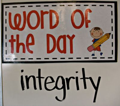 3rd Grade Thoughts: Transition Time: Word of the Day....the video on this blog is OUTSTANDING...lots of behavior management ideas! Love!