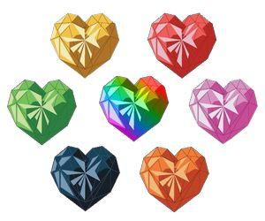 Hearts from Sugar Sugar Rune