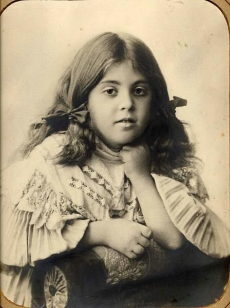 Portrait of a girl Russia 1890s