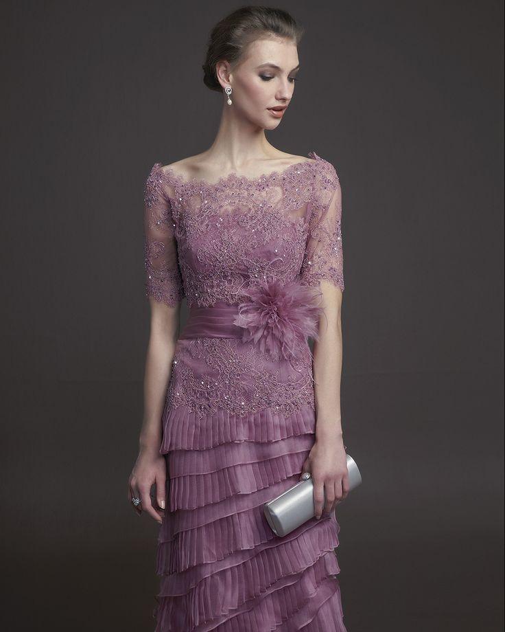 64 best Vestidos de fiesta. images on Pinterest | Bride dresses ...