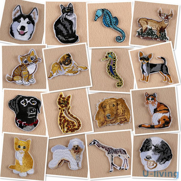 Cheap patches for clothing iron, Buy Quality patches for clothing directly from China animal patch Suppliers: 1pcs Animal Patch for Clothing Iron on Embroidered Sew Applique Cute Patch Fabric Badge Garment DIY Apparel Accessories WMJP-88
