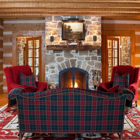 Country Retreat with Tartan Plaids.