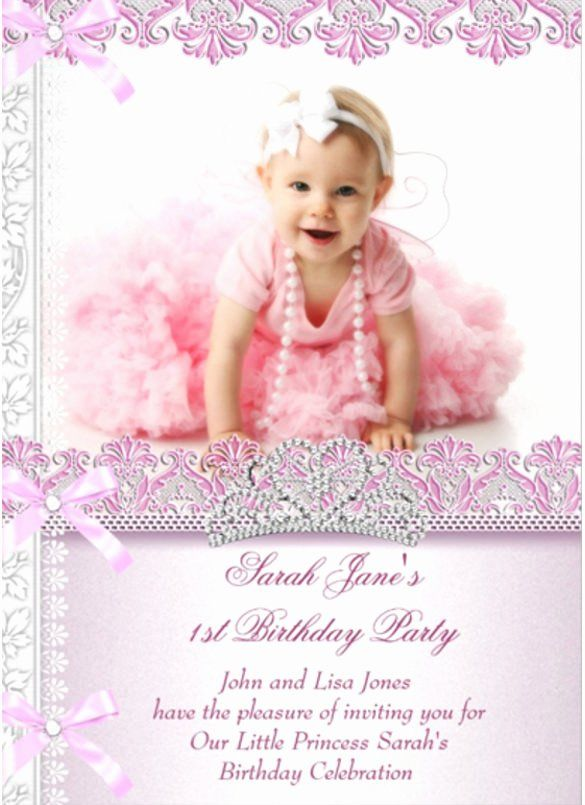 First Birthday Invitation Template Free Fresh 36 First Birthday Inv In 2020 Birthday Invitation Card Template 1st Birthday Invitations 1st Birthday Invitation Template