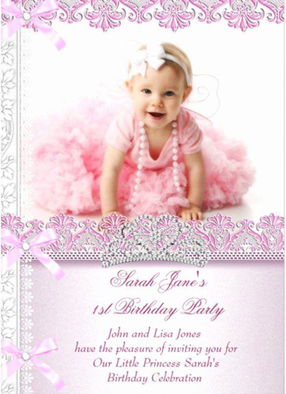1st birthday party invitation cards new