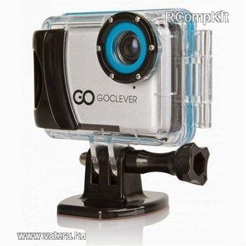 GOCLEVER DVR Extreme sport kamera ezüst - 26150 Ft - Nézd meg Te is Vaterán - Digitális videokamera - http://www.vatera.hu/item/view/?cod=2026341395