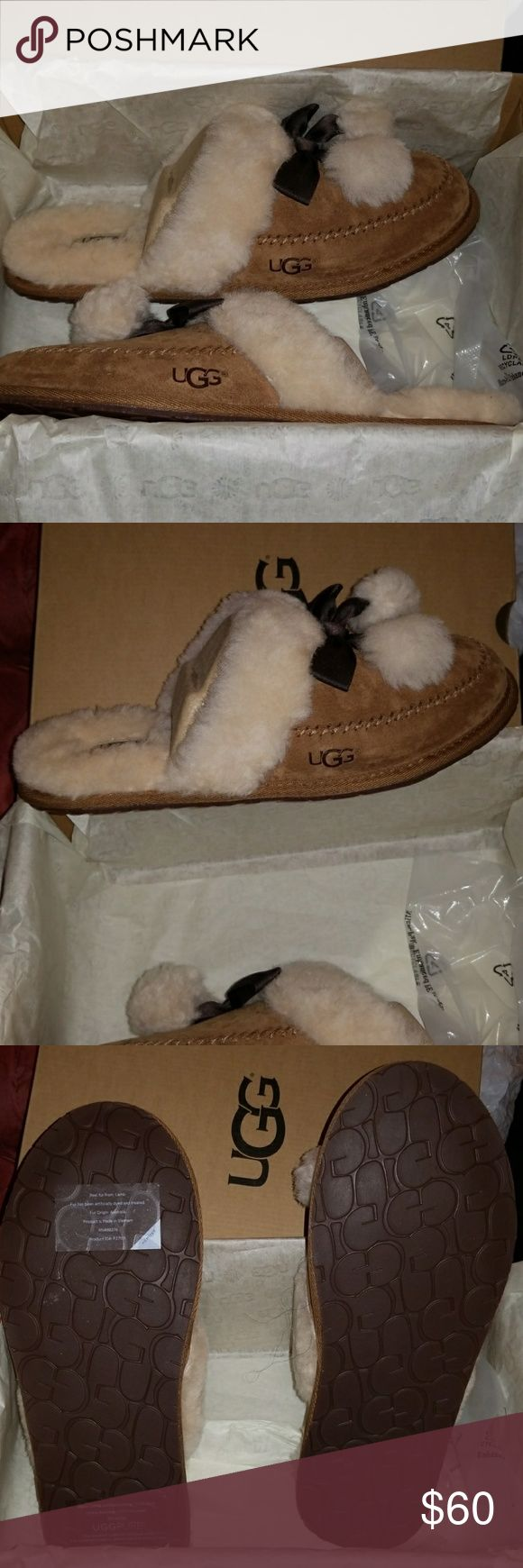Ugg Slippers Brand new Ugg slippers, great for this season! Sold out online & at most Ugg stores! UGG Shoes Slippers