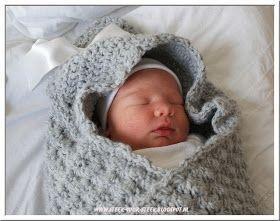 Steek voor steek: #haken, gratis patroon, Nederlands, babycape, baby, kraamcadeau, haakpatroon