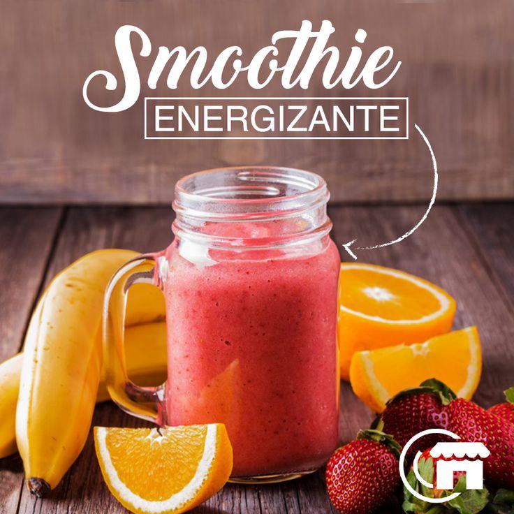 Smoothie Energizante  Ingredientes ▪️1 Banana o una taza de frutos rojos. ▪️2 cucharadas de Cacao en polvo. ▪️2 cucharadas de Maca . ▪️Miel de Agave. ▪️1 taza de Leche de Almendras (o cualquier leche vegetal). . ⏲ Preparación ▪️Mezclar todo en la licuadora y servir frío. ▪️Endulzar al gusto con la miel de agave. . ✅ Beneficios: ▪️Es nutritivo, aporta fibra, ayuda a la fertilidad y al balance de hormonas. ▪️Tomar después de un entrenamiento, o como sustituto de la cena.