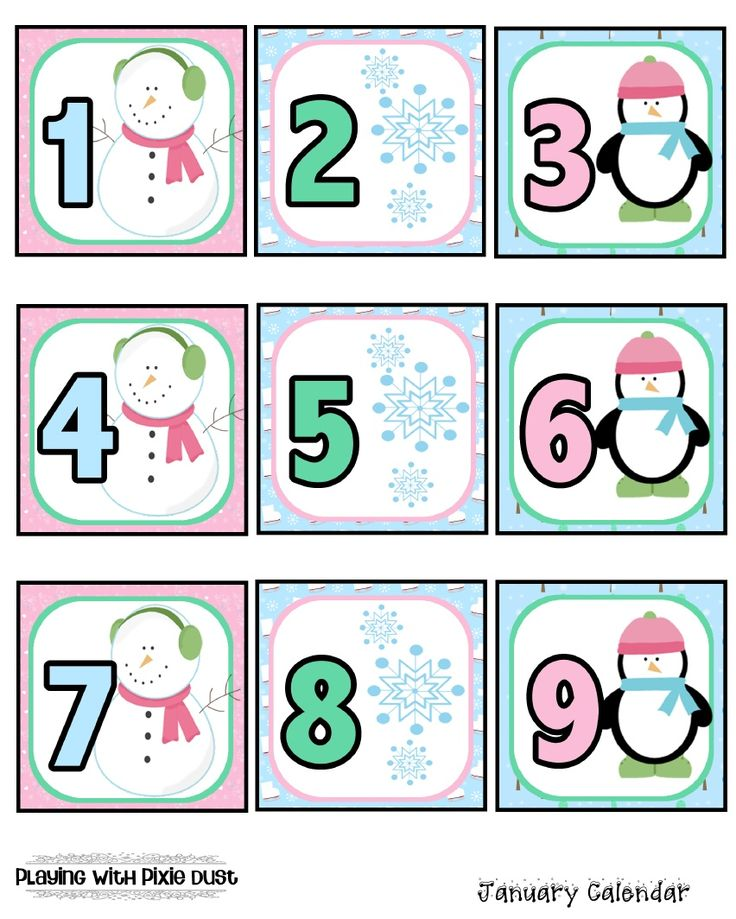 Calendar Numbers Clipart : Best calendar numbers images on pinterest