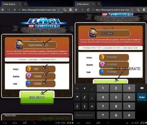 X-War Clash of Zombies Hack Crystals Energy Food Tutorial Clash of Zombies hack Online generator is tool easy to use with Android, iOs or PC and no download