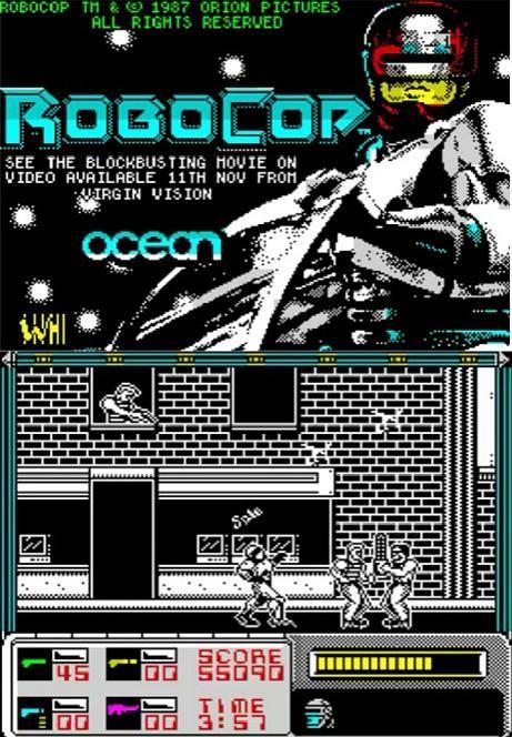 Robocop ZX Spectrum (1988)