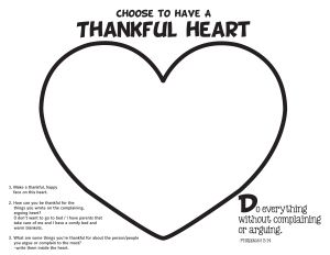 Phil. 2:14 printables and lesson with time breakdown!!! - Great lesson on being thankful instead of complaining!