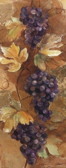Autumn Grapes II by Albena Hristova art print