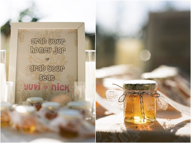 homemade wedding favors, DIY wedding favors, wedding favor ideas, Honey wedding favors