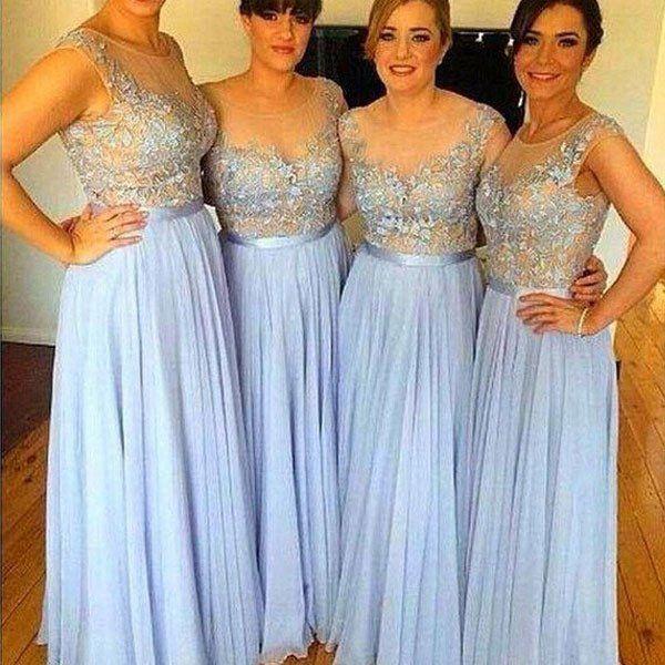 The 25  best Light blue bridesmaid dresses ideas on Pinterest ...