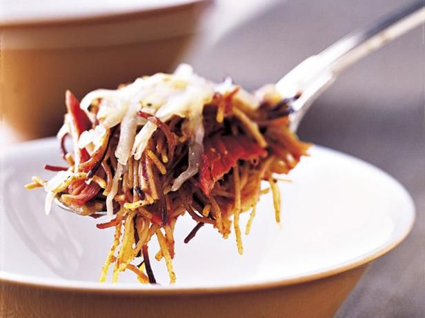 As seen on Guy's Big Bite: California Caponata: Food Network, Mexicans Noodles, Mexicans Food, Casseroles Recipe, Network Kitchens, Noodles Casseroles, Casserole Recipes, Noodle Casserole, Sopa Seca