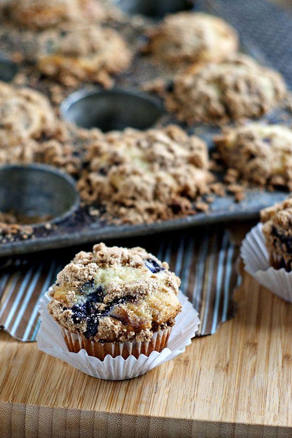 Greek Yogurt Blueberry Muffins by heatherlikesfood # ...