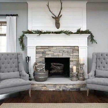 35 Superior Farmhouse Fire Design Concepts To Beautify Your Dwelling Room