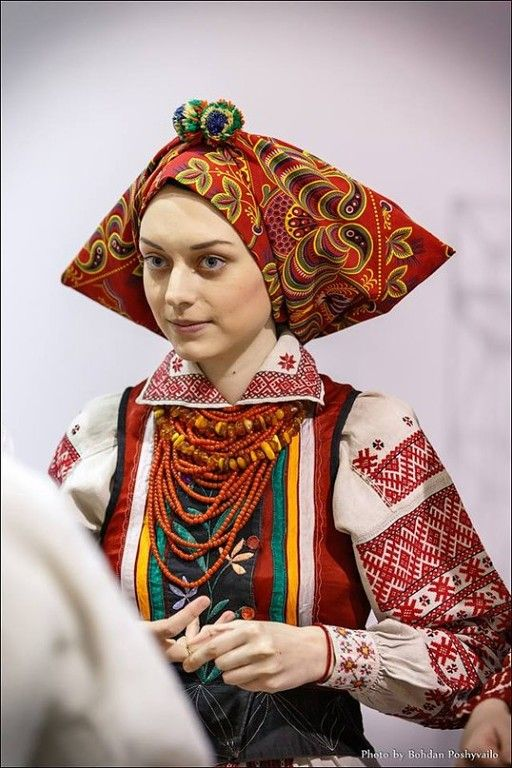 Ukraine - from the UKRAINIAN PEOPLE'S CLOTHING Collection at ok.ru