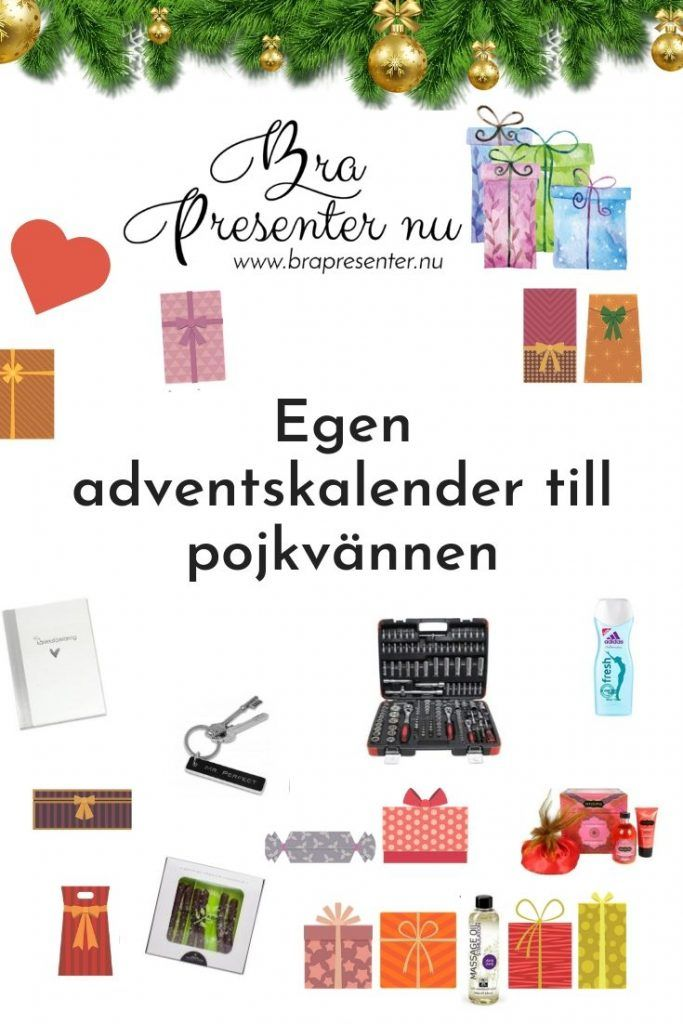 tips på presenter julkalender