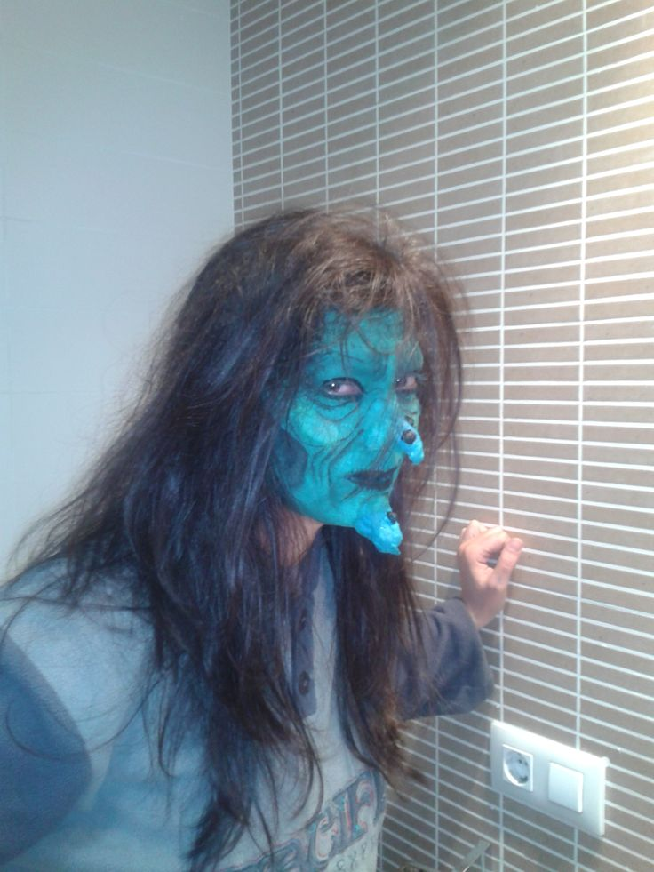 43 best images about face painting halloween on pinterest - Cara de bruja ...