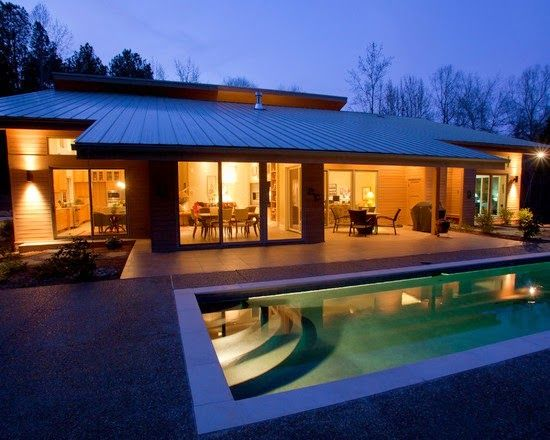 ver fotografas de casas de una planta un piso modernas y bonitas variadas en
