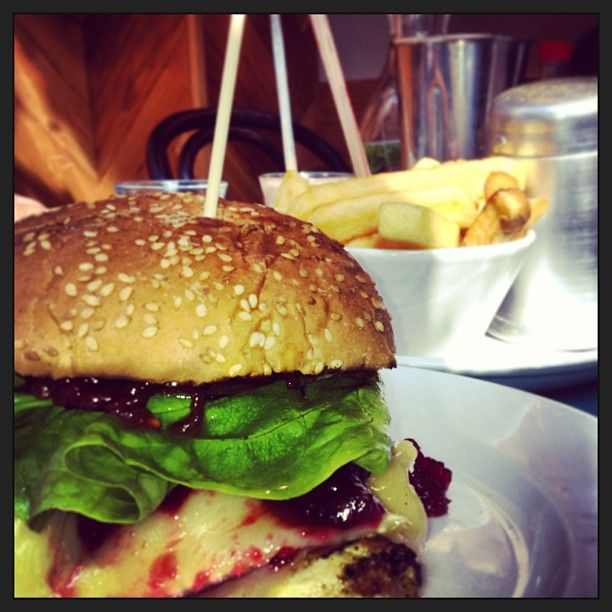 delicious burgers at the South Kensington branch of Gourmet Burger Kitchen (GBK). With more than 28 varieties of burger on the menu, smaller burgers for kids, a vegetarian selection and an organic range, there's something for everyone.
