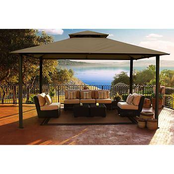 kingsbury soft top gazebo - Gazebo Patio Ideas