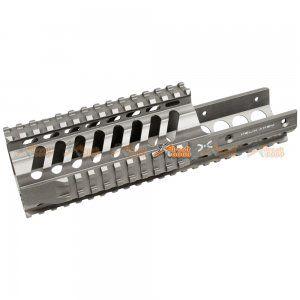 Fashion Defence Aluminum 9 Inch Short KRISS Rail for KWA KRISS VECTOR Airsoft GBB (Grey)
