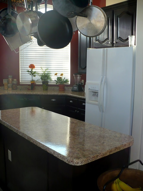 250 Kitchen Makeover With 20 Faux Granite Countertops