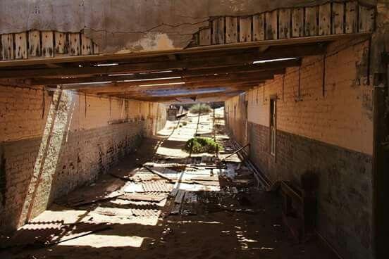 Ghost town, Sperrgebiet - Lüderitz,  Namibia