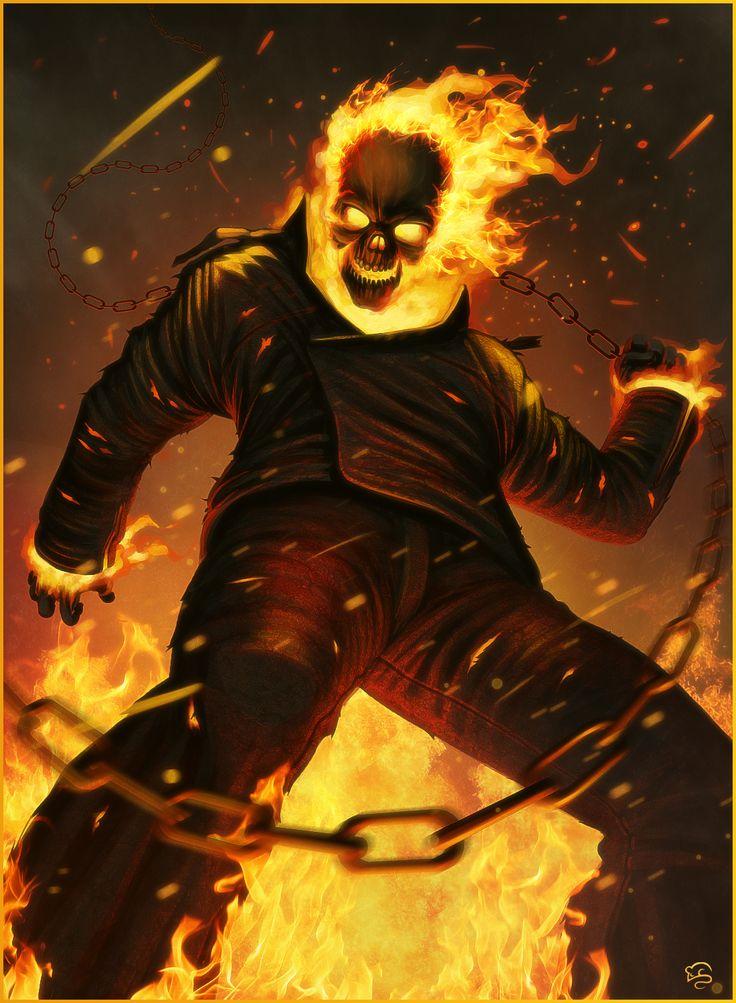 Ghost Rider by =TovMauzer on deviantART