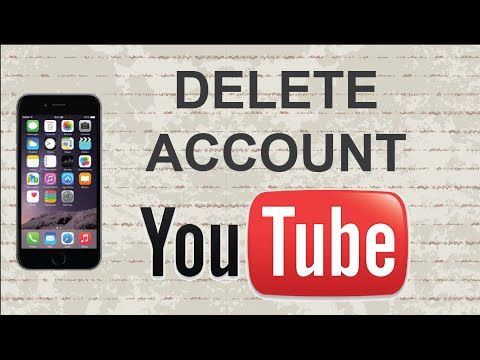 How to delete Youtube account | Mobile App (Android / Iphone