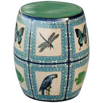 Histoire Ceramic Stool