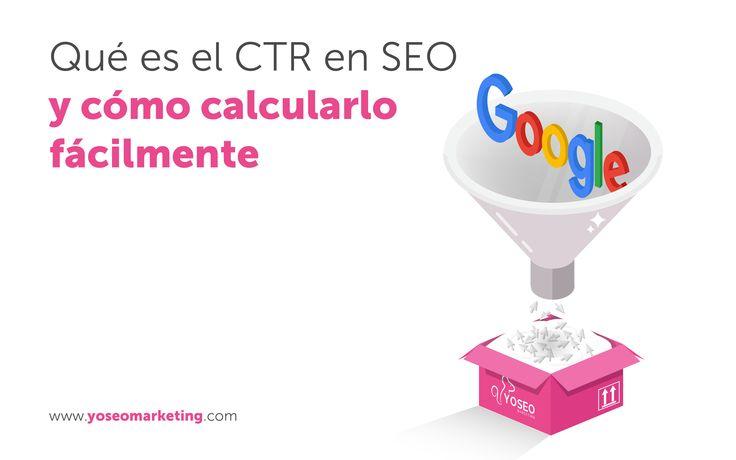 Click Through Ratio, o #CTR, es el porcentaje de usuarios que hacen click en un enlace o botón. ¿Por qué es importante este concepto dentro del #posicionamientoSEO? Hoy en nuestro #blog te descubrimos el por qué deberías tenerlo en cuenta y, no te preocupes, también te decimos cómo puedes calcularlo. http://www.yoseomarketing.com/blog/ctr-que-es-click-trough-ratio-seo-calcular/#utm_sguid=161387,e46f3e6a-0e15-f874-1cfe-fe0c10df776b #agenciaseo #posicionamientoweb #SEO
