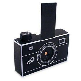 Cámara Pinhole de cartón. / Amante de la fotografía?